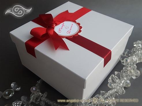 Kutija za kolače 16x16x8cm