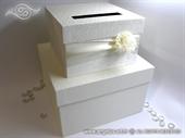 Kutija za kuverte - Cream Flower Cake