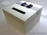 kutija za lila masnom za novce