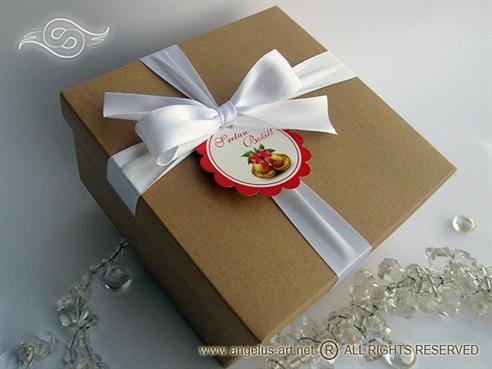 kutija za poklone natur poklon kutija 6282