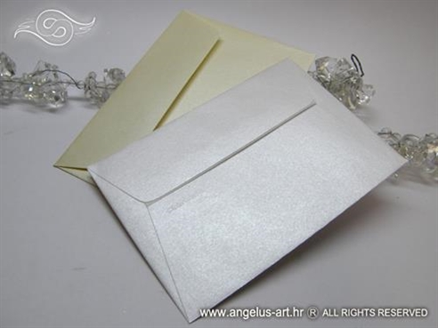 Kuverta perlasta 11,5x16,2 cm