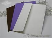 Kuverta 11,5x16,2 cm za samostalnu izradu pozivnica i zahvalnica - uradi sam DIY