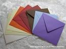 Kuverte u boji 14x14cm