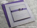 lila ljubičasta lavanda pozivnica na rasklapanje