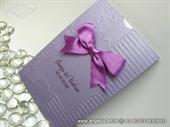 Pozivnica za vjenčanje - Lilac Frame Charm