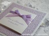 Pozivnica za vjenčanje Royal Trendy Lila