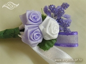 Kitica i rever za vjenčanje Lilac Rose