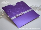 Pozivnica za vjenčanje Purple Charm