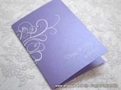 Zahvalnica za vjenčanje Purple Line 2