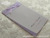 Zahvalnica za vjenčanje Purple Butterfly
