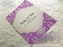 Zahvalnica za vjenčanje Modern Purple