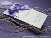 Zahvalnica za vjenčanje Lilac Beauty