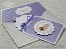 Ekskluzivna čestitka - Baby Bottle Purple