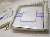 Pozivnica za vjenčanje - Exclusive Lilac Book