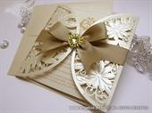 Pozivnica za vjenčanje - Luxury Gold Diva