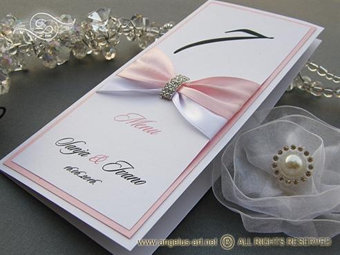Luxury Rose Menu