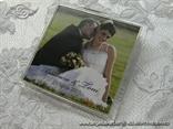 magnet s plasticnim okvirom i tiskom za vjencanje