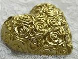 magnet zlatno srce konfet za vjenčanje