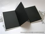 mali srebrni foto album za cetiri fotografija