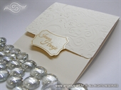 Pozivnica za vjenčanje krem vintage
