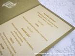 menu za vjenčanje krem i staro zlato