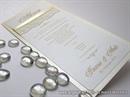 Menu za vjenčanje - Cream Lace Charm