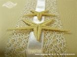 morska knjiga gostiju s dvije morske zvijezde i mrežom