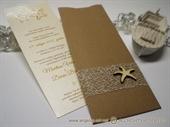 Pozivnice za vjenčanje - Natural Beach Charm