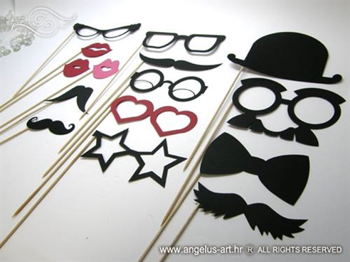 mustache photo booth rekviziti za fotografiranje brkovi usta