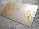 Pozivnica za vjenčanje Orange Line