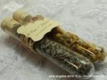 natural poklon za goste vjenčanja s kamilicom i lavandom
