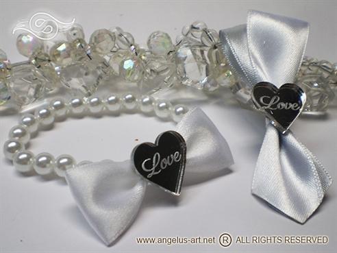 Silver Herat LOVE