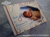 Obavijest o rođenju u stilu razglednice s fotografijom - Obavijest 1