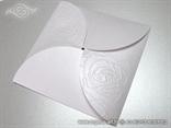 omotnica za kuvertu perlasta bijela