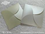 perlaste krem i bijele omotnice za samostalnu izradu pozivnica