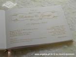 personalizacija za knjigu vjenčanja s perlicama