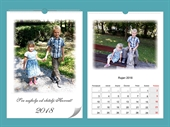 Personalizirani poklon - Kalendar sa slikom A4