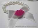 Pink Lips Narukvica