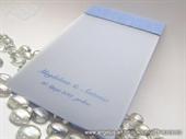 Zahvalnica za vjenčanje Light Blue