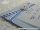 Pozivnica za vjenčanje Simplicity Blue