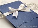 Pozivnica za vjenčanje Blue Classic