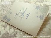 Zahvalnica za vjenčanje Blue Winter