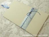 Pozivnica za vjenčanje Blue Charm Plus