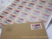 Poštanska markica za vjenčanje