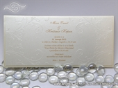 Pozivnica za vjenčanje Exclusive Cream Line
