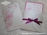 pozivnica i zahvalnica za vjenčanje ciklama mini beauty