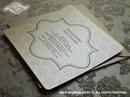 Pozivnica za vjenčanje Damask Cream Line