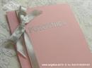 Pozivnica za vjenčanje Pink putovnica