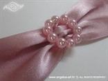 pozivnica s rozim perlicama detalj
