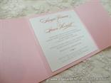 Pink Classic Lace Invitation